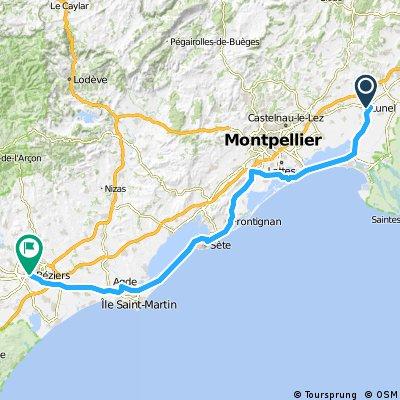 1988 - Tour de France - 11. Tag - Lunel - Béziers
