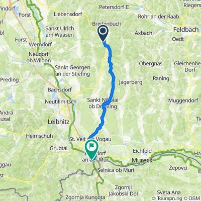 Kirchbach 249, Kirchbach in der Steiermark nach Spielfeld 29