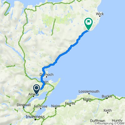 Route to A99, Lybster