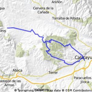 Calatayud - Terrer (por Armantes)