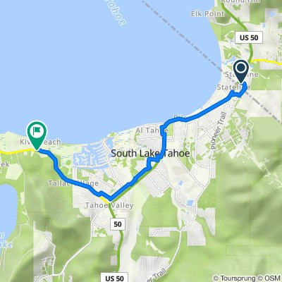 17 US-50, Stateline to 3 Emerald Bay Rd, South Lake Tahoe