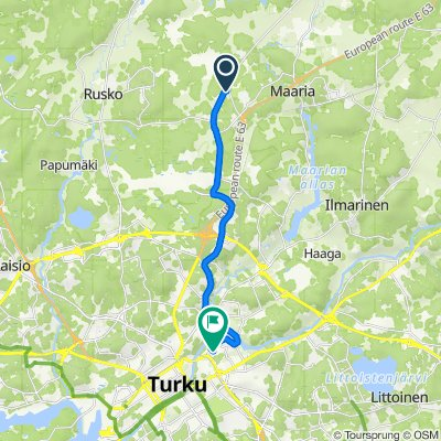 Buddhism temple, Moisiontie 225, Turku to Yo-kylä 4, Turku