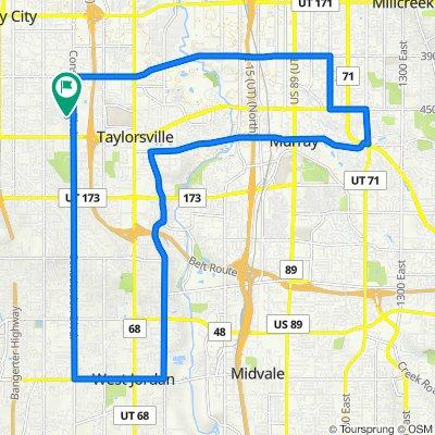 4492 S Parkbury Way, West Valley City to 4494 S Parkbury Way, West Valley City