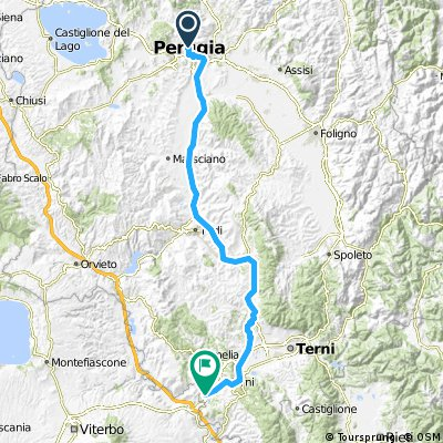 1991 - Kärnten - Rom - 8. Tag - Perugia - San Liberato