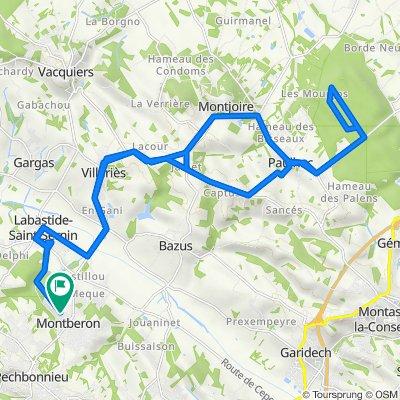 De 1 Impasse Saint-Paul, Montberon à 2 Impasse Saint-Paul, Montberon