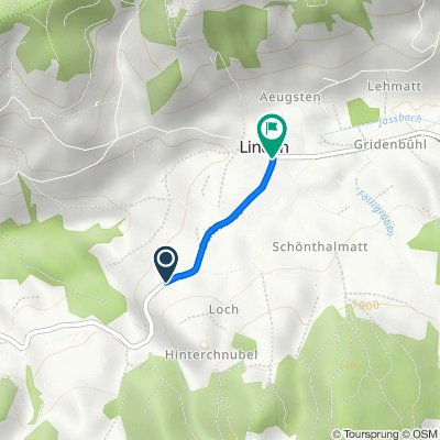 Grafenbühl 87d, Linden nach Dorfplatz 2, Linden