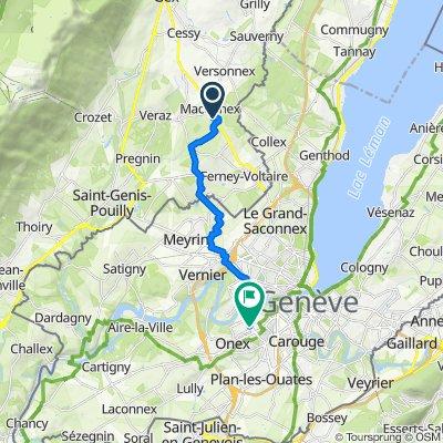 Itinéraire vers Avenue des Morgines 19, Petit-Lancy