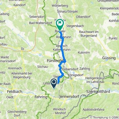 Hohenbrugg an der Raab 160 nach Schloßweg 4, Burgau