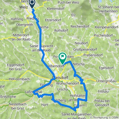 Von Krottendorf nach Albersdorf