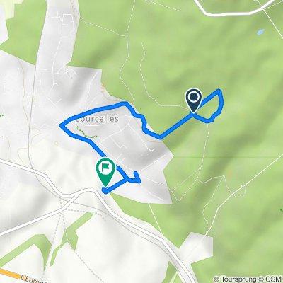 Itinéraire vers Chemin des Bourbiers, Presles