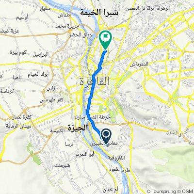 Cairo Governorate, Maadi Al Khabiri Al Wasti to Elsahel, Al Khazendarah