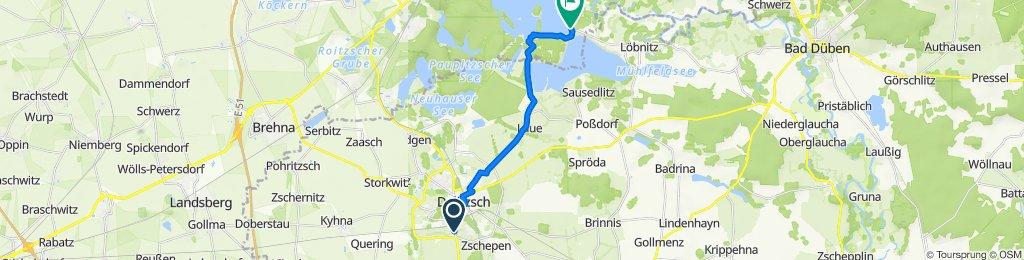 Leipziger Straße 33, Delitzsch nach L139, Bitterfeld-Wolfen