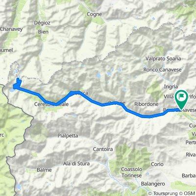 PIEMONTE: Colle del Nivolet da Pont Canavese e ritorno