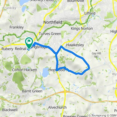 2–42 Chadwick Close, Rednal, Birmingham to 14 Pegasus Way, Birmingham