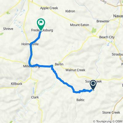 40 mile Trail Route