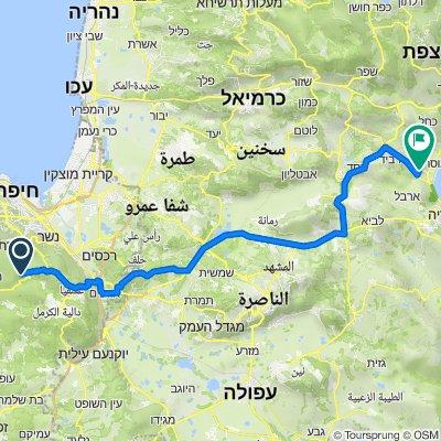 Beit Oren Yeshuv 716, Bet Oren to Rimon Street, Migdal