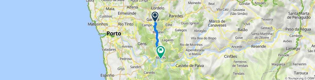 De Avenida D Faustino Moreíra dos Santos 574, Gandra a Avenida José Joaquim Ferreira 5109, Melres