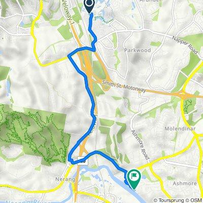1 Timberline Way, Arundel to 18 Kawana Crescent, Ashmore