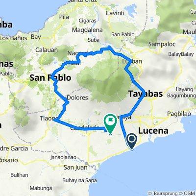 Sariaya to Lutucan - Guisguis Road 345, Sariaya