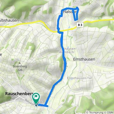 Bahnhofstraße 32a, Rauschenberg nach Bahnhofstraße 31, Rauschenberg