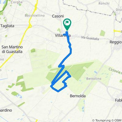Da Via Giuseppe Mazzini 17, Villarotta a Via Giuseppe Mazzini 21, Villarotta