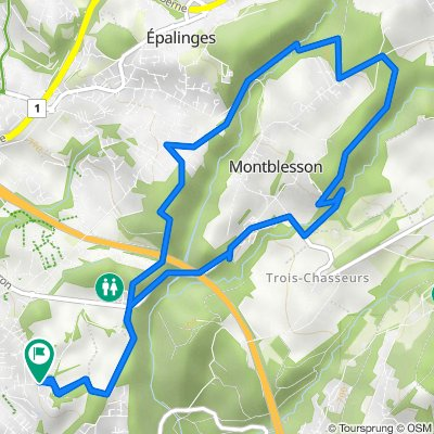 Chailly Montblesson 12km