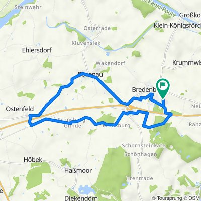 Mühlenweg 25, Bredenbek nach Mühlenweg 23, Bredenbek