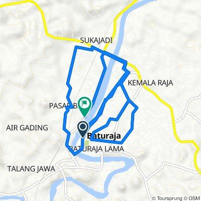 Jalan Dokter M. Hatta 16, Kecamatan Baturaja Timur to Jalan Doktor Sutomo 155, Kecamatan Baturaja Timur