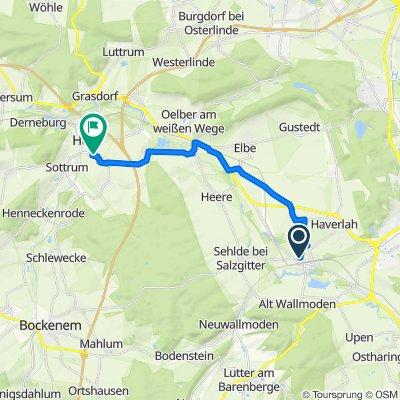 Hainbergblick 17, Salzgitter nach Rösselweg 2–4, Holle