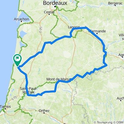 Les Landes – St. Jacobs – Garonne