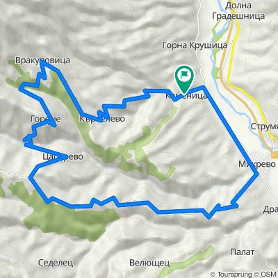 Каменица - Цапарево - Микрево