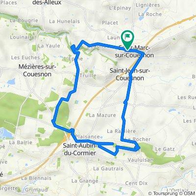 23 km St Marc-St Aubin