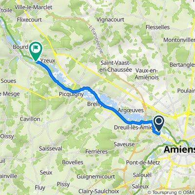 Itinéraire à partir de 114 Rue Sully, Amiens