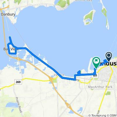 Sandusky Bay Long Trip