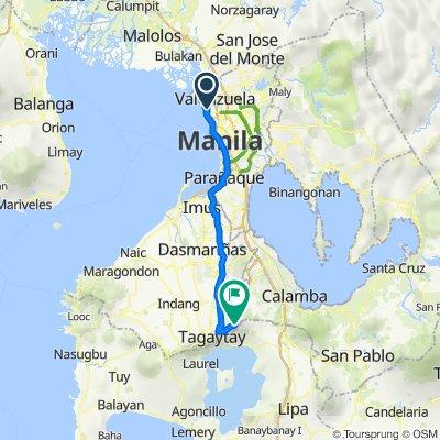 A Herrera 34, City of Malabon to Unnamed Road, Tagaytay