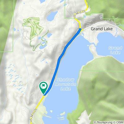 30 River Dr, Grand Lake to 30 River Dr, Grand Lake