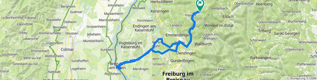 Bildsteinstraße 2A, Freiamt nach Bildsteinstraße 2A, Freiamt