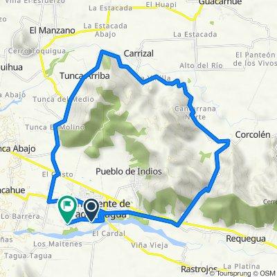 De Lago Villarrica 991, San Vicente de Taguatagua a Francia 1119, San Vicente de Taguatagua