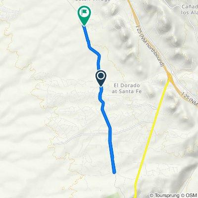 De 1 Dovela Ct, Santa Fe a 230 Nine Mile Rd, Santa Fe