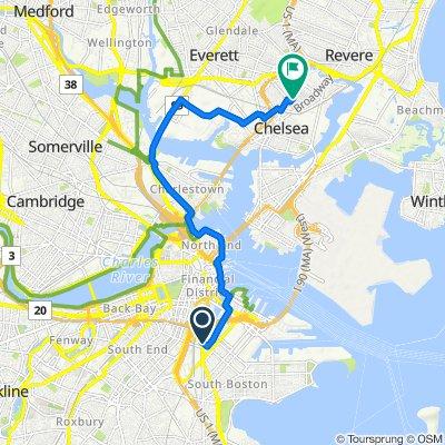 De 102 Dorchester Ave, Boston a 84 Tudor St, Chelsea