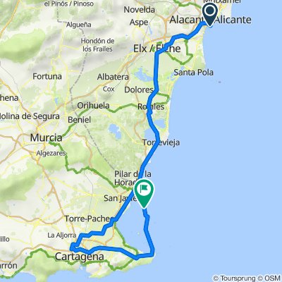 Alicante - La Manga del Mar Menor
