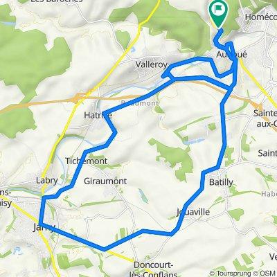 De 2–4 Route de Briey, Auboué à 4 Route de Briey, Auboué