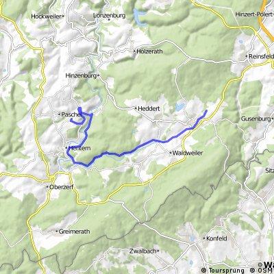 Schömerich Kell am See per Radweg