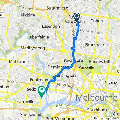 26 Ellenvale Avenue, Pascoe Vale South to Somerville Road, Footscray