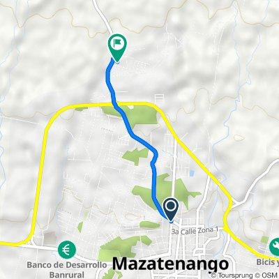 De RD-SCH-01 1-50, Mazatenango a RD-SCH-01, Mazatenango