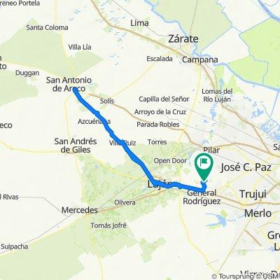 De Arroyo Baltico a Arroyo Blanco
