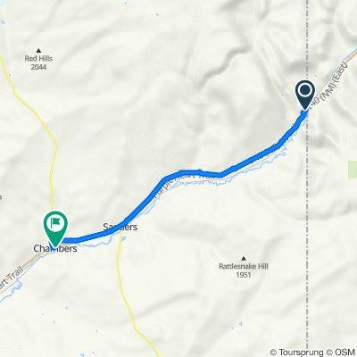 Mile Marker 359 I-40, Lupton to Interstate 40 33360, Sanders