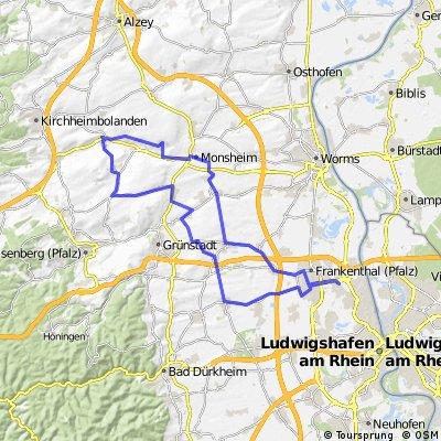 Die Mauer von Mölsheim
