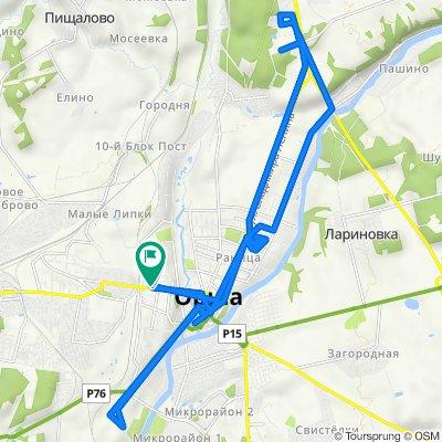 Умеренный маршрут в
