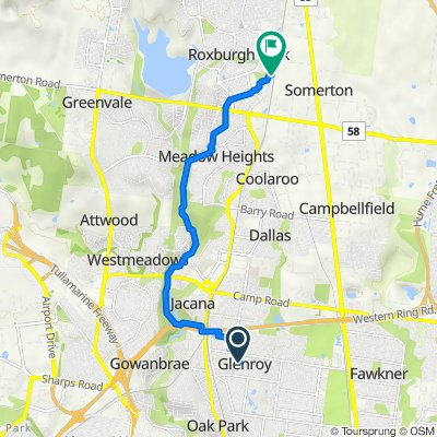 39 Beatty Avenue, Glenroy to 6 McConnell Crescent, Roxburgh Park